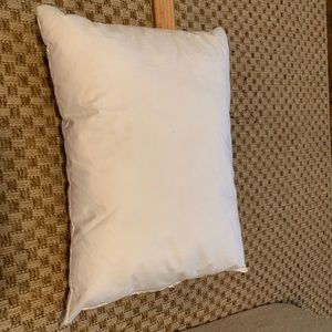 Rectangle feather pillow insert
